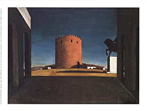 Giorgio de Chirico-The Red Tower-1992 Poster: de Chirico, Giorgio