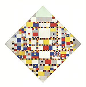 Piet Mondrian-Victory Boogie Woogie (No text)-1986 Poster: Mondrian, Piet