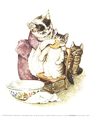Beatrix Potter-The Tale of Tom Kitten-1991 Poster: Potter, Beatrix