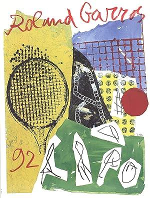Jan Voss-Roland Garros-1992 Poster: Voss, Jan