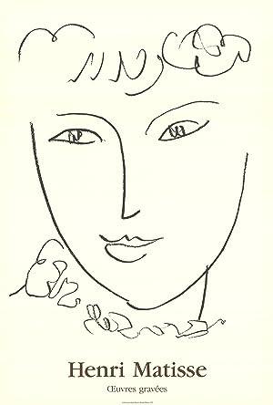 Henri Matisse-La Pompadour-1992 Poster: Matisse, Henri