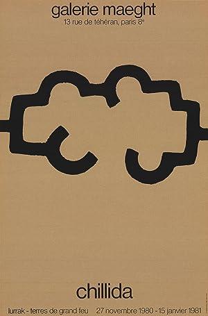 Eduardo Chillida-Galerie Maeght, 1980-1980 Lithograph: Chillida, Eduardo