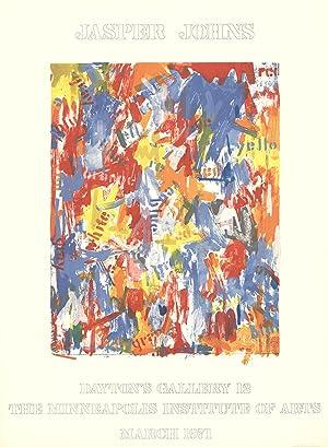 Jasper Johns-Dayton's Gallery 12-1971 Poster: Johns, Jasper