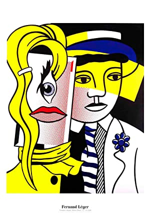 Roy Lichtenstein-Stepping Out-2004 Poster