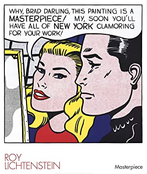 Roy Lichtenstein-Masterpiece-2004 Poster