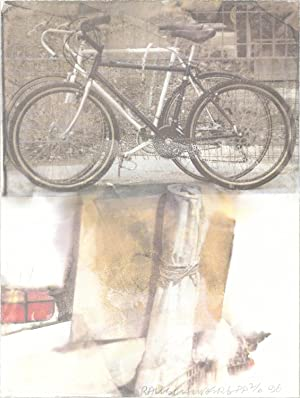 Robert Rauschenberg-Bicycle-1996 Offset Lithograph-SIGNED