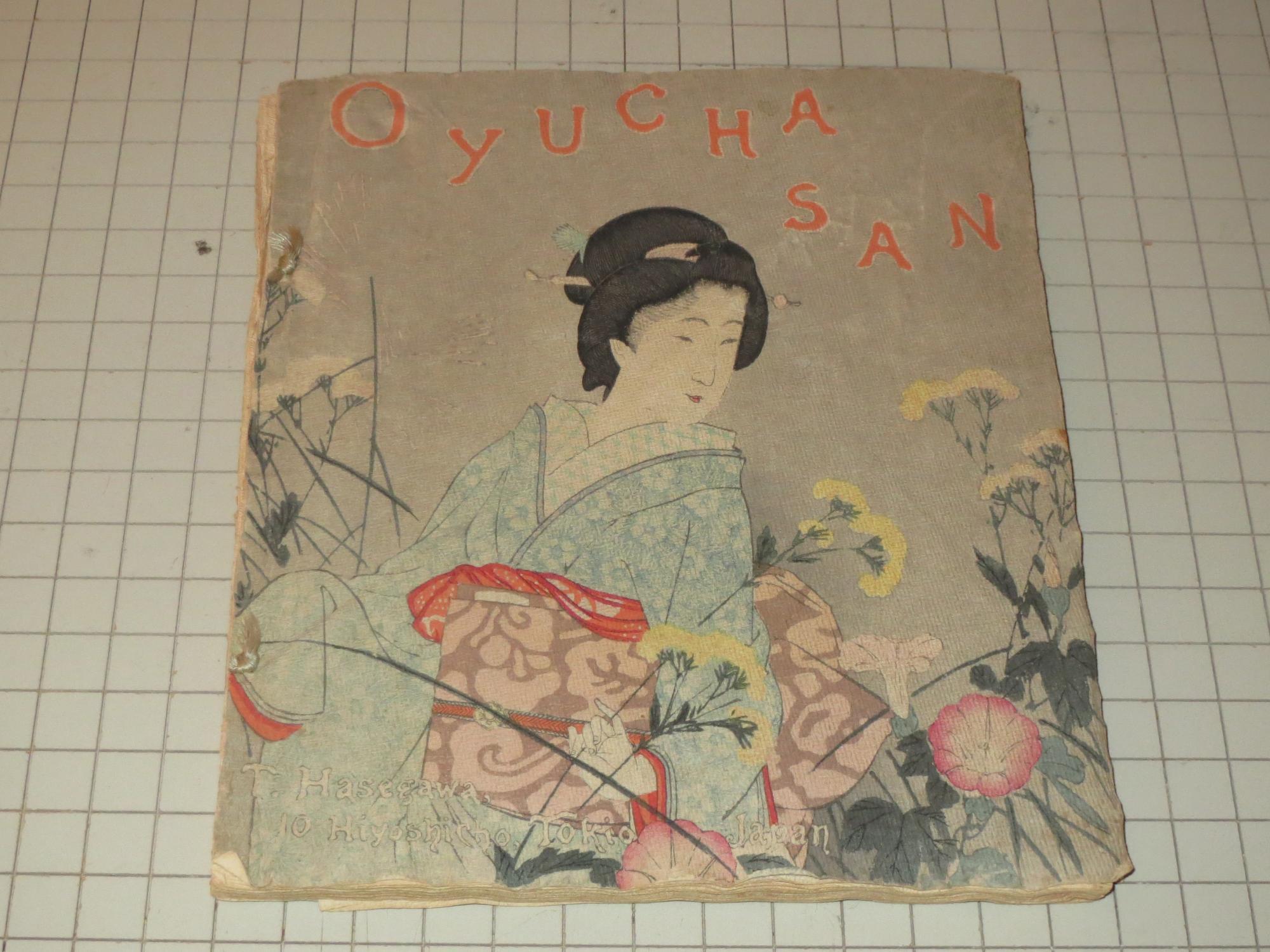 Oyucha San (Japanese Jingles Crepe Paper) by Lieutenant F ...