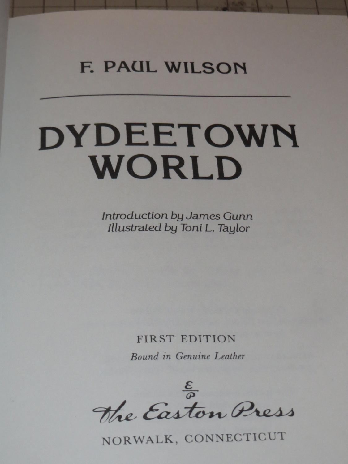 Dydeetown World: F.Paul Wilson