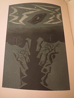 The Pilgrim on the Earth - 12 Wood Engravings in Colour by Rene Ben Sussan - Limted Edition: Julian...