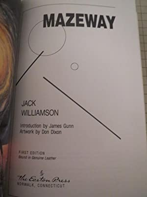 Mazeway - James Gunn Intrduction - Don Dixon Artwork - Signed Copy: Jack Williamson