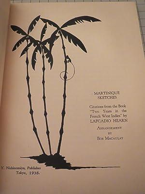 Frisson:Martinique Sketches: Lafcadio Hearn - Bob Macauley