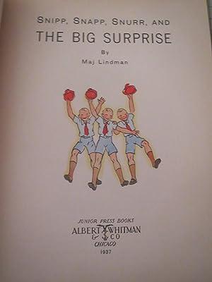 Snipp, Snapp, Snurr and the Big Surprise: Maj Lindman