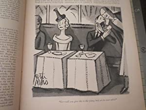 Feb.20,1937 The New Yorker Magazine:Gone With The Wind Cartoon Spoof - H.L.Mencken - James Thurber ...