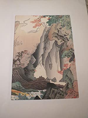 Wood Block Prints Selected Japanese Old Pictures (6 Prints a set) W/an explanation: Shubun, ...