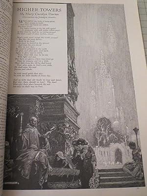1922 Good Housekeeping Magazine: Jessie Willcox Smith Cvr - Franklin Booth - Dorothy Canfield ...