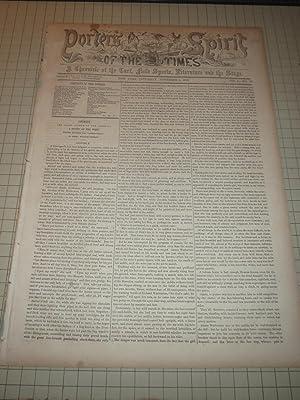 1856 Porter's Spirit of the Times -