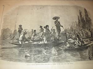 1866 Harper's Weekly:Arkansas Travellers - Trouting Poem - Railroad Bridges - Civil War Medals...