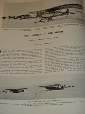 1933 Travek Magazine:Jehol,Battle Gound of Asia - Lost Airmen of the Arctic - Garden Cities of Old ...