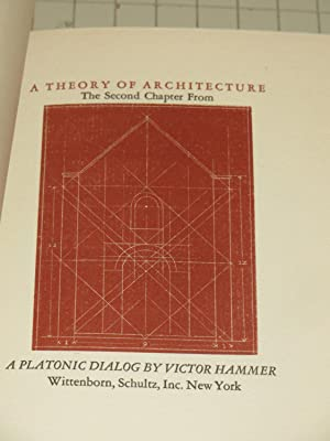 A Theory of Architecture (Signed Limited Edition): Victor Hammer