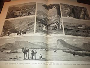 The Graphic (1880) Disaster in Afghanistan - Farming in the Red River Valley (Minnesota) - Lord ...