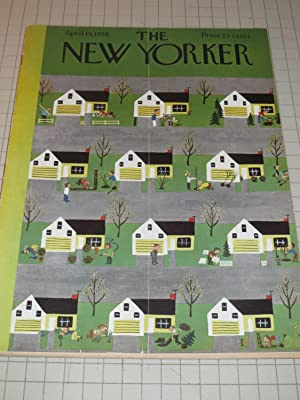 April 19,1958 The New Yorker Magazine: May: David Kidd