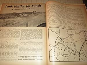 1944 The Cavalry Journal Magazine: Armor in the Battle of Normandy - Rocket Typhoons - Air Cavalry ...