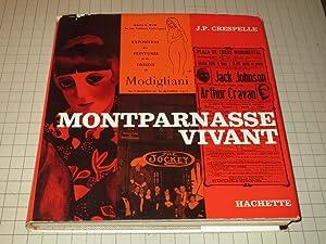 Montparnasse Vivant (French Edition): J.P.Crespelle