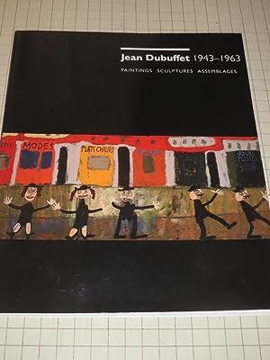 Jean Dubuffet 1943 - 1963 Paintings, Sculptures Assemblages: Susan J. Cooke