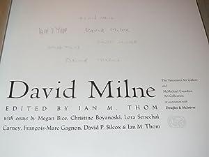 David Milne (Canadian Artist): Ian Thom, editor