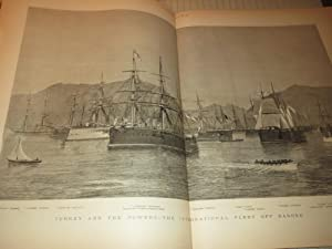 1880 The Graphic Illustrated Newspaper - Sketches From India - Afghanistan War Dead - Turkey and ...