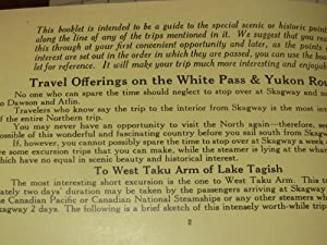 Canadian Pacific Steamships Hand Book of Vacation Trips in Alaska, Atlin & The Yukon (1929)