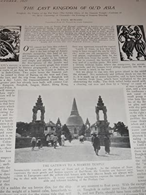 1927 Travel Magazine: The Geisha - Ships That Sail the Desert (Camels) - Siam - Vikings in ...