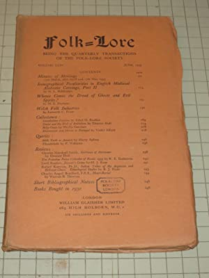 1933 Folk-Lore Magazine: Iconographical Peculiarities in English Medieval Alabaster Carvings - ...