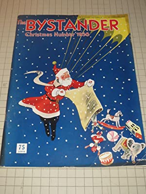 1936 The Bystander Magazine, Christmas Number: Santa