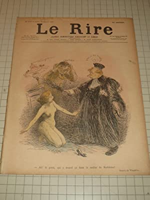 1897 Le Rire, Journal Humoristique - Adolphe: Adolphe Willette