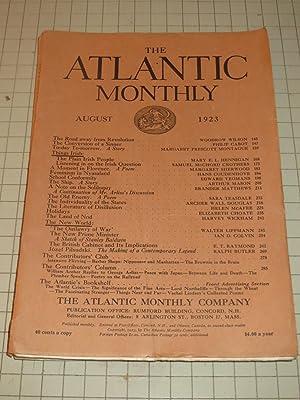 1923 The Atlantic Monthly: The Plain Irish: Woodrow Wilson, Walter