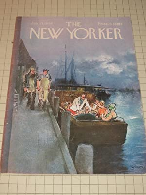 July 25,1964 The New Yorker Magazine: Barry