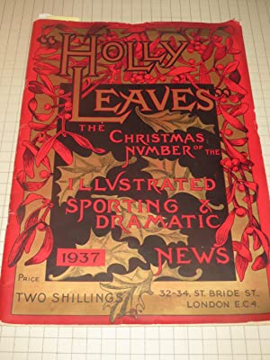 1937 Holly Leaves Christmas Number: Milk Bar-Barism: Anthony Gibbs