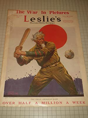 1918 Leslie's Illustrated Weekly: The Great American