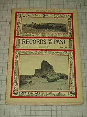 1904 Records of the Past (Archaeology) -