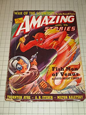1940 Amazing Stories Pulp Magazine: War of: John Russell Fearn,