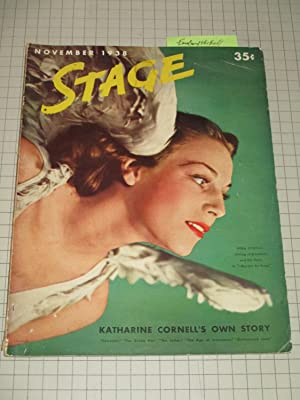 1938 Stage Magazine: Ferdinand the Bull Spoof: Clare Boothe, Frank