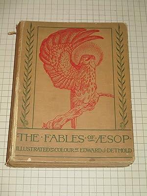 The Fables of Aesop (W/23 Color Plates: Edward J. Detmold