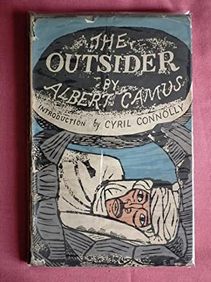 The Outsider. Translated from the French by: CAMUS, Albert.