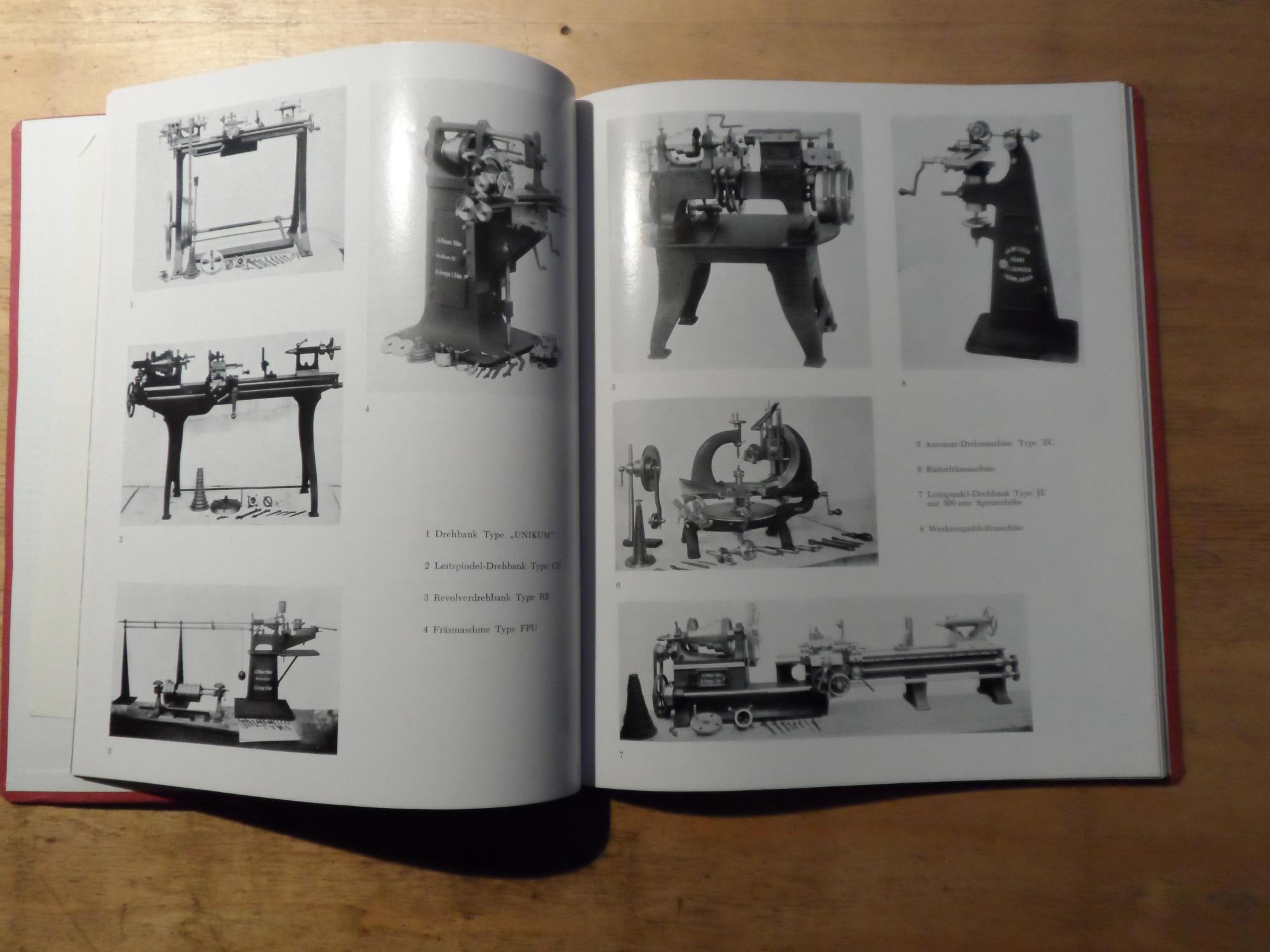 1856 1956 100 jahre werkzeugmaschienenfabrik j g weisser s hne st georgen schwarzwald von. Black Bedroom Furniture Sets. Home Design Ideas