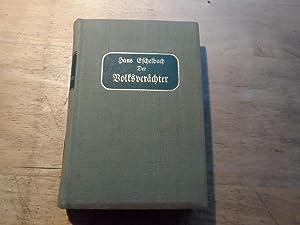 Der Volksverächter - Roman: Eschelbach,Hans (signiert)