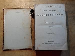 Deutsch-Griechisches Handwörterbuch: Sengebusch,M. - Pape,W.