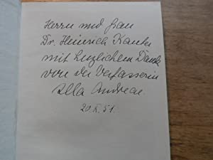 Das goldene Haus - Novelle: Andreae,Illa(signiert)