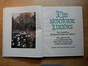 Das nieverlorene Paradies - Aus deutschen Wäldern,Wiesen und Gärten: Mezger,Max - Oeser Hans Ludwig