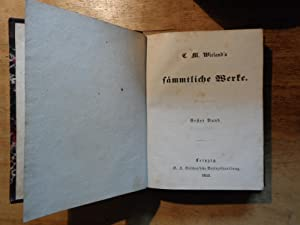 Wielands sämmtliche Werke - in 36 Bänden - 17 Bände - ohne Band 27/28: Wieland,C.M.